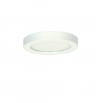 "Blink 13.5W 7"" Round LED Flush Mount, 3000K, 745 Lumens, White"