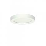 """Blink 13.5W 7"""" Round LED Flush Mount, 3000K, 745 Lumens, White"""