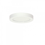 "Blink 13.5W 9"" Round LED Flush Mount, 3000K, 90 CRI, White"