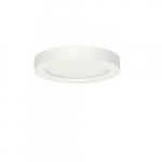 """Blink 13.5W 7"""" Round LED Flush Mount, 5000K, 900 Lumens, White"""