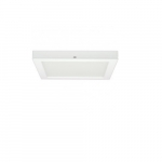 "Blink 13.5W 7"" Square LED Flush Mount, 3000K, 90 CRI. White"