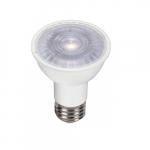 6.5W LED PAR16 Bulb, 60W Inc. Retrofit, Dim, E26, 500 lm, 5000K