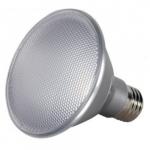 13W Short Neck LED PAR30 bulb, Dimmable, 3500K, 25 Degree Beam