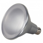 18W LED PAR38 Bulb, Dimmable, 3000K