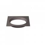 "Freedom Square 4"" Downlight Trim Option, Bronze"