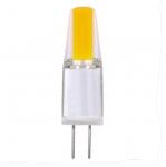 1.6W JC LED Light Bulb, G4 Base, Dimmable, 5000K