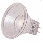 1.6W LED MR11 Bulb w/ GU4 Base, 5000K, 40 Degree
