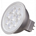 3W LED MR16, Dimmable, GU5.3 Base, 5000K