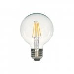 4.5W LED G25 Decorative Bulb, 2700K, Clear