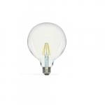 4.5W LED G40 Globed Shaped Bulb, 2700K, Clear
