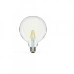 6.5W LED G40 Globed Shaped Bulb, 2700K, Clear