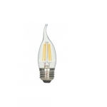 4.5W LED CA11  Candelabra Bulb, 2700K, Clear