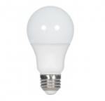 10W LED A19 Bulb, 3000K, 4 Pack