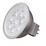 6.5W LED MR16, Dimmable, GU5.3 Base, 90 CRI, 3000K