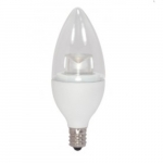 5W LED Decorative Torpedo Bulb, Dimmable, 2700K