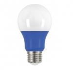 2W Muli-Directional LED A19 Colored Bulbs, Blue