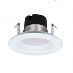 "9.5W 4"" LED Recessed Retrofit Downlight, Dimmable, 3000K"