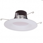 "17W 5/6"" LED Recessed Retrofit Downlight, Dimmable, 4000K"