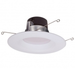 "17W 5/6"" LED Recessed Retrofit Downlight, Dimmable, 5000K"