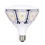 40W Hi-Pro LED Post Top Lamp, 3000K, 5000 Lumens
