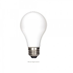 6.5W LED A19 Soft White Filament Bulb, 2700K, Dimmable