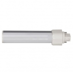 9W LED PL Bulb, 2-Pin Horizontal Ballasts, 3500K, 850 Lumens