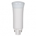 9W LED PL Bulb, 2-Pin Vertical Ballasts, 3000K, 850 Lumens