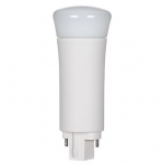 9W LED PL Bulb, 2-Pin Vertical Ballasts, 3500K, 850 Lumens