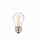 4.5W LED A19 Clear Filament Bulb, 2700K, Dimmable