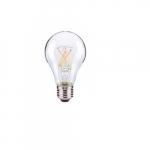 8.5W LED A19 Edison Bulb, 2700K, 90 CRI, Clear