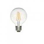 3.5W LED C11 Candelabra Bulb, 3000K, Clear, 469 Lumens