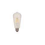 6.5W LED ST19 Edison Bulb, 3000K