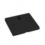 12V Offset Monopoint Adapter for LED Track Lights, Black