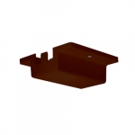 Floating Canopy for Track Lights, Brown