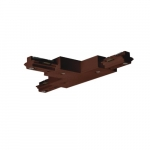 T Connector for Track Lighting, Bronze