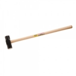 Sledge Hammer w/ Hickory Handle, 10-lb Head