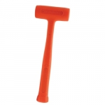 Compo-Cast Slimline Soft Face Hammer, 14 oz Head, Orange