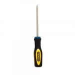 4-in Fluted Screwdriver, #2 Phillips Tip