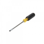 6-in Round Blade Screwdriver w/ Vinyl Grip, .3125-in Slotted Tip