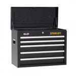 26-in Top Tool Chest w/ 5 Drawers, Black