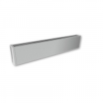 450W 4-ft Mini Architectural Baseboard, 150 Sq Ft, 1536 BTU/H, 120V, Anodized Aluminum