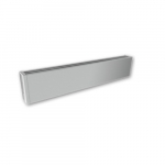 600W 4-ft Mini Architectural Baseboard, 150 Sq Ft, 2048 BTU/H, 120V, Anodized Aluminum