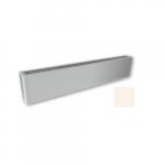 600W 4-ft Mini Architectural Baseboard, 150 Sq Ft, 2048 BTU/H, 120V, Soft White