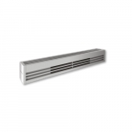 1500W Architectural Baseboard Heater, 250W/Ft, 120V, Anodized Aluminum