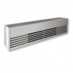 2000W Architectural Baseboard Heater, 500W/Ft, 208V, Anodized Aluminum