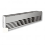2400W Architectural Baseboard Heater, 300W/Ft, 480V, White