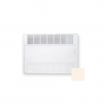 4000W Cabinet Heater, 240V Control, 3 Ph, 480V, 13684 BTU/H, Soft White