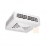 3000W Dragon Ceiling Fan Heater w/ Built-in Thermostat, 208V, Soft White