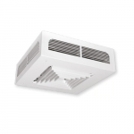 4000W Dragon Ceiling Fan Heater, 24V Control, 1 Ph, 240V, White