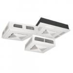 3000W ADR-II Ceiling Fan Heater w/ 240V Control, 10238 BTU/H, 277V, Off White